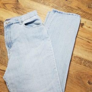 Gloria Vanderbilt Light Wash Jean's Sz 14